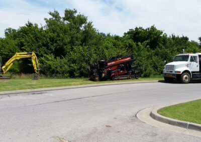 Gables Excavating Utility Contractor Tulsa 094